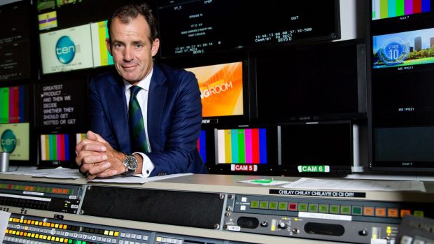 Network Ten chief executive Paul Anderson.
