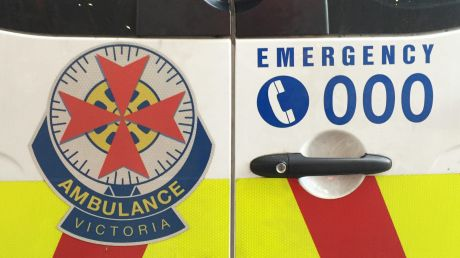 A woman was taken to hospital in a critical condition.