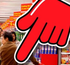 Down, down: Earnings before interest and tax at Coles fell $251 million to $1.6 billion.
