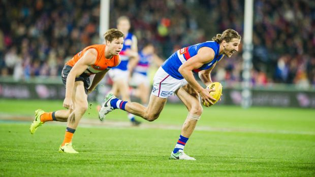 The Bulldogs and Giants will renew their rivalry on Friday night footy.