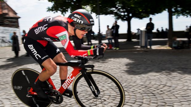 Porte takes Dauphine lead after brutal mountain effort