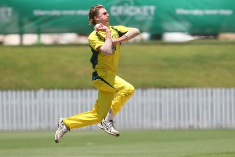 Wanted man: Will Sutherland is in demand from footy and cricket.
