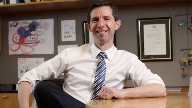 Education Minister Simon Birmingham wants to introduce national testing for all year one students.