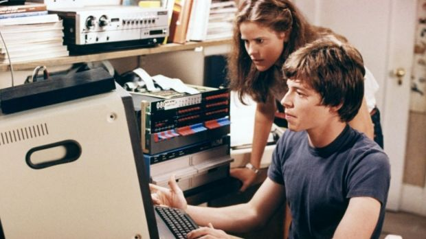 Information war is very different from cyber war. An image from classic 1983 hacking film <i>War Games</i>, starring ...