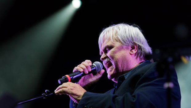 Bruce Hampton performs at the Fox Theatre. He died on stage as the concert neared its end.