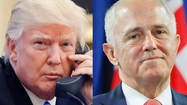 The full White House transcript of the conversation between Malcolm Turnbull and Donald Trump has been leaked.