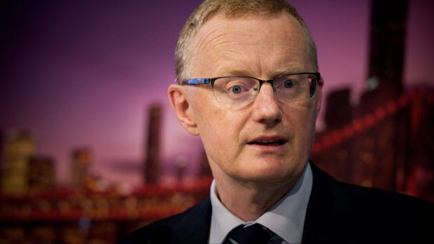 "Reserve Bank governor Philip Lowe highlighted ""slow growth in real wages"" for restraining growth in household consumption."