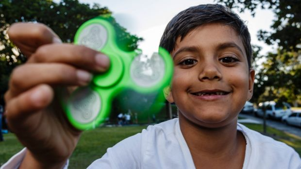 Mesmerising or irritating? The fidget spinner is the latest craze for children and teenagers.