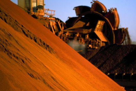 A sharp jump in iron ore futures lit a fire under the stocks of iron ore miners on Tuesday, helping the market recover ...