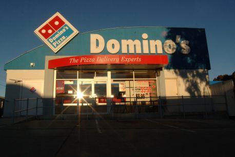 The view from some Domino's store owners is far from sunny.