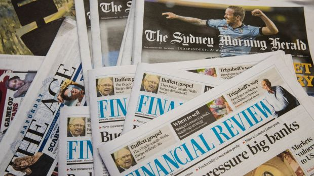 US private equity firms bid for Australia newspaper empire