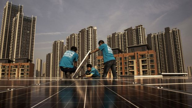 China's housing market is showing some signs of cooling.