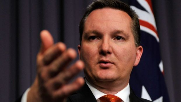 "Chris Bowen says Scott Morrison's housing package is a ""sham""."