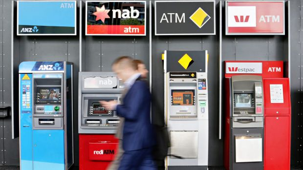 The share prices of the four big retail banks – ANZ, Commonwealth Bank of Australia, National Australia Bank and Westpac ...