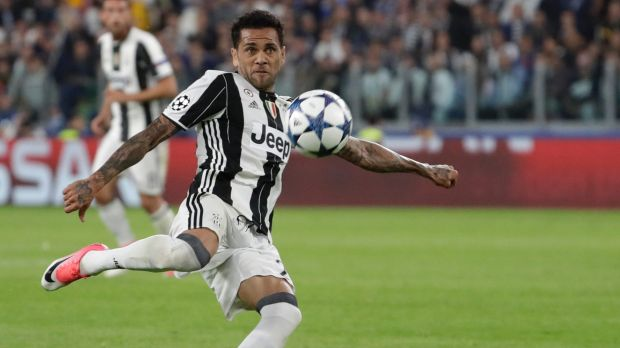Juventus' Dani Alves has also been left out by Brazil.