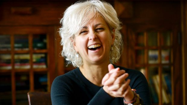 Newbery Prize-winning author Kate DiCamillo.