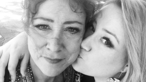 A recent photo of Rosie Waterland and her mother, Lisa Stevens.