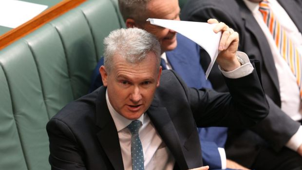 "Tony Burke: ""There are two different pathways but when you test them, the standard that they're tested to is the same."""