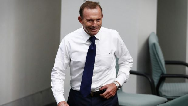 Tony Abbott has been critical of Cory Bernardi's defection to create his own conservative movement.