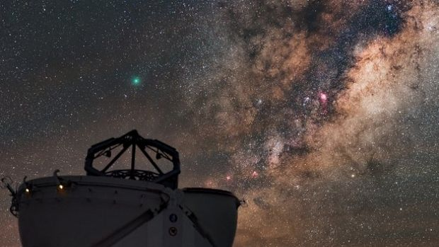 This Auxiliary Telescope at the Very Large Telescope (VLT), located at the Paranal Observatory in Chile.