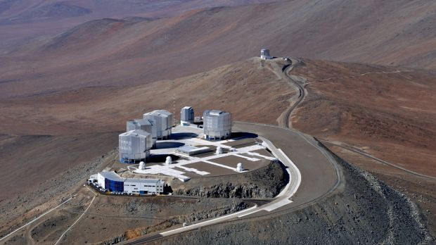 ESO's Very Large Telescope in Chile.