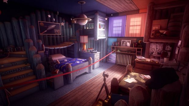 Every room tells a story, literally, in What Remains of Edith Finch.