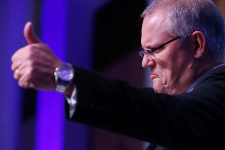 Treasurer Scott Morrison is expected to address the latest figures on Wednesday morning.