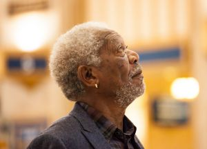 Morgan Freeman seeks out the origins of the world's religions in <i>Story of God</i>.