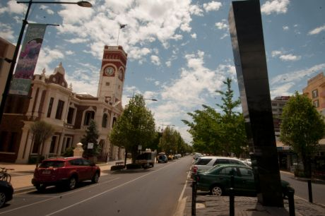 Toowoomba, 140 kilometres west of Brisbane, has a population of more than 115,000.