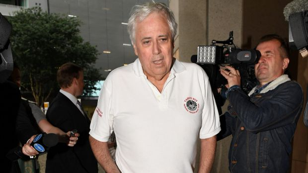 Clive Palmer is seeking to sue the Prime Minister for defamation.