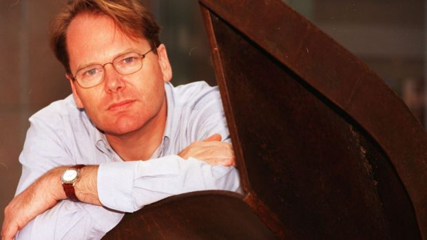 ABC radio presenter Mark Colvin, pictured in 1997, battled with ill health for the past two decades.