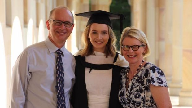 """Dr Andrew Bryant and his wife Susan with their daughter, Charlotte. """"His four children and I are not ashamed of how he ..."""