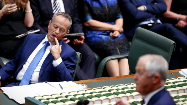 Opposition Leader Bill Shorten is decidedly becalmed after this latest budget.
