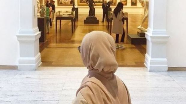 Hanan Merheb was one of four Muslim women punched in the face in unprovoked attacks near UTS on Wednesday.