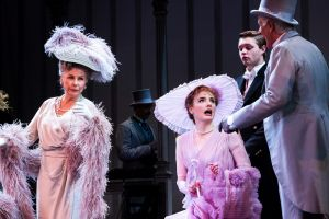 Robyn Nevin as Mrs Higgins, left, with Anna O'Byrne as Eliza Doolittle in My Fair Lady.