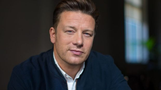 Jamie Oliver is in Melbourne to promote his Learn Your Fruit and Veg program for primary school students