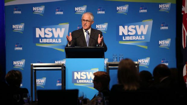 Liberal heartland: Tax payers in Prime Minister Malcolm Turnbull's electorate of Wentworth received an average $5,387 ...