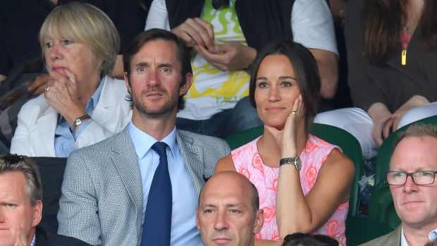 One more sleep ... Pippa Middleton and James Matthews will marry on Saturday morning, London time.