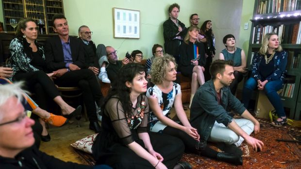 The audience for home performances, such is this one in Richmond, is growing.