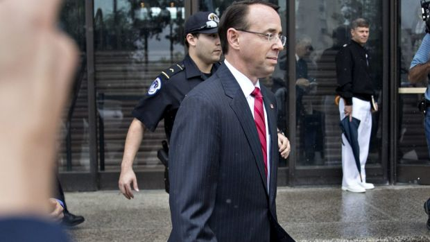 Rod Rosenstein, deputy attorney general, has appointed a special counsel to investigate possible Russian interference in ...