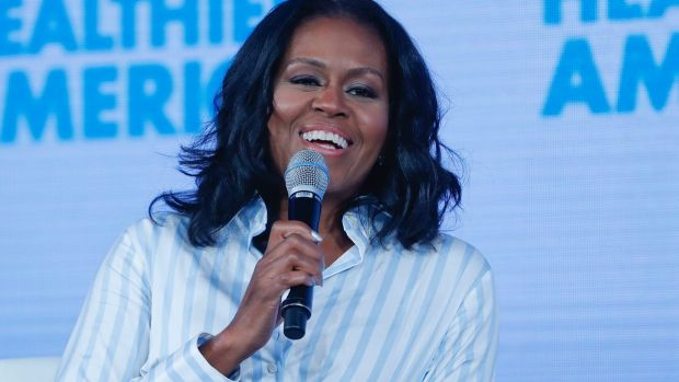 Michelle Obama says women who supported Trump 'voted against their own voice'