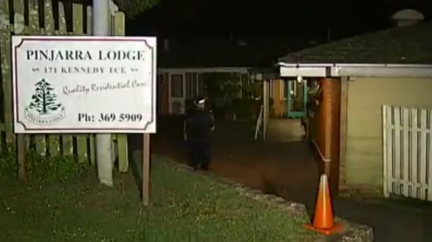 Four men were stabbed at Pinjarra Lodge in Paddington before another was attacked in nearby Ashgrove on Friday night.