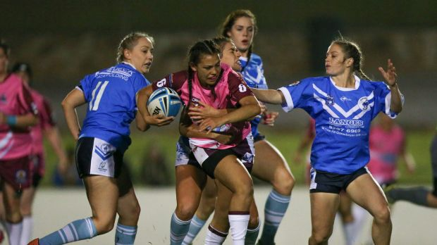 The Raiders will focus on the local women's competition next year and bid for an NRL licence in 2019.