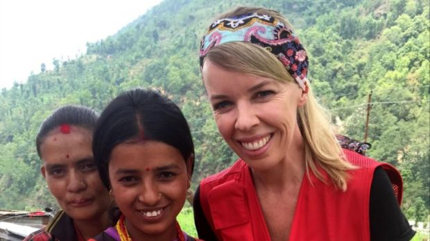 Ruth Jebb on a mission in Nepal.