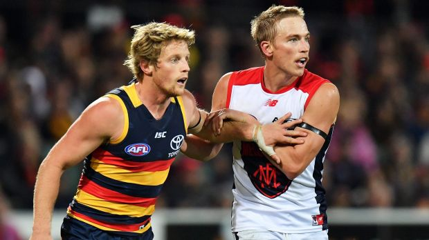Rory Sloane was quiet by his standards and Bernie Vince had a win against his former club in his 200th AFL game.