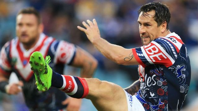 What about me: Mitchell Pearce is angry at his treatment by the Roosters.