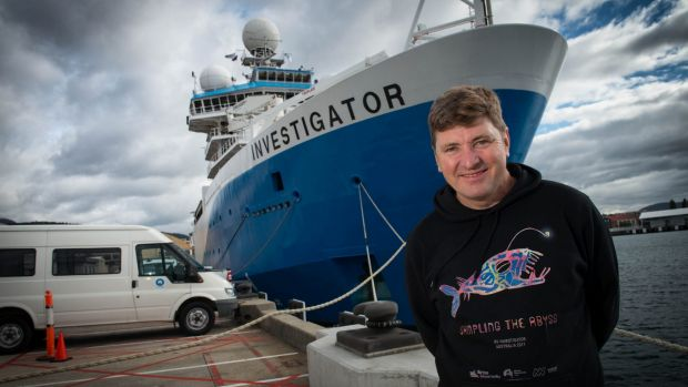 Tim O'Hara will be the chief scientist for the 'Sampling the Abyss' expedition.