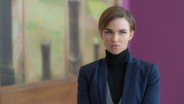 Ruby Rose plays dapper deaf-mute Ares