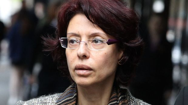 Eman Sharobeem arrives at ICAC last month to give evidence into alleged fraud.