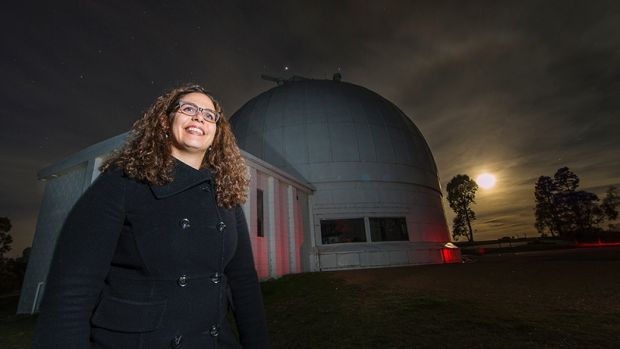Dr Anais Möller of the ANU Research School of Astronomy and Astrophysics